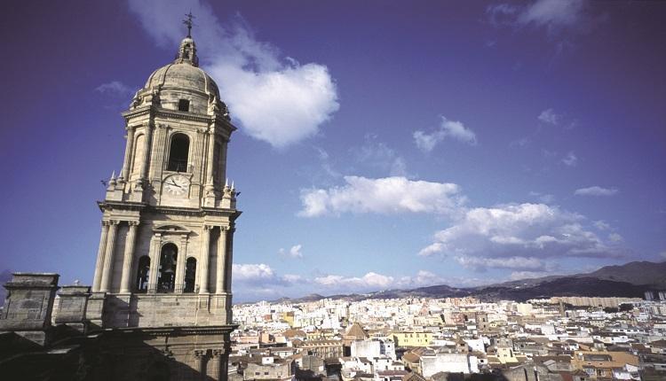 Vista panorámica de la Catedral de Málaga