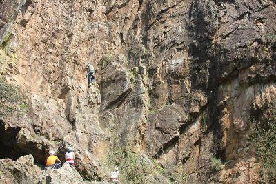 Escalada en roca. Multiaventura Córdoba