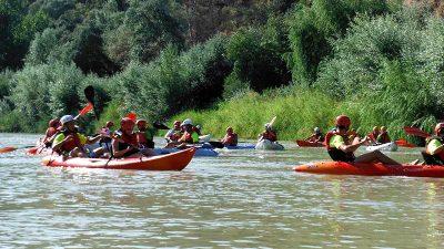 Actividades multiaventura en Córdoba. Kayac