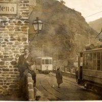 Vereda de la Estrella, fotografía antigua estación de tren Maitena