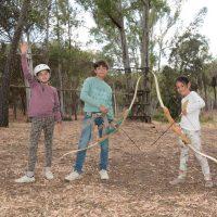 Tiro con arco Actividades para colegios en camping Isla Cristina, Huelva