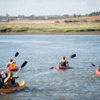 Kayac Actividades para colegios en camping Isla Cristina, Huelva