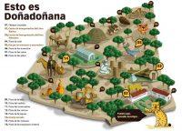 Plano Granja escuela Doñana Huelva