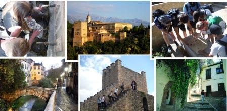 Visita a Granada. Turismo activo y cultural en Granada.
