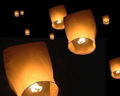 lámparas voladoras