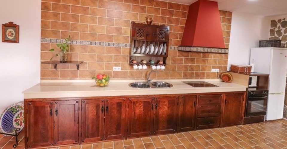 Casa rural con cocina amplia totlmente equipada