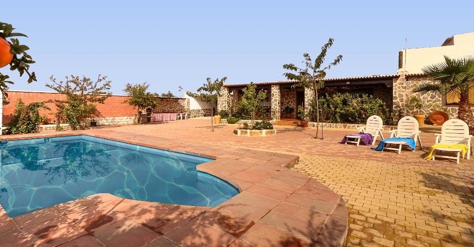 Casa rural grande con piscina
