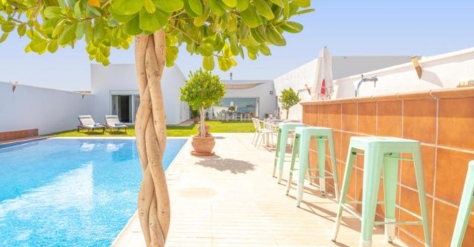 Gran apartamento con piscina privada
